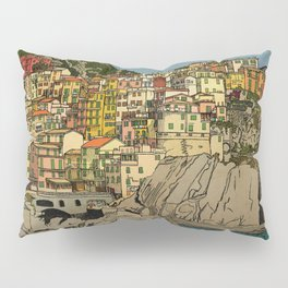 Of Houses and Hills Pillow Sham