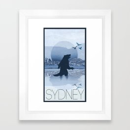Every City Has Its Creature - Sydney Framed Art Print