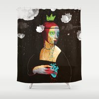lady Shower Curtains featuring Lady by SNEP