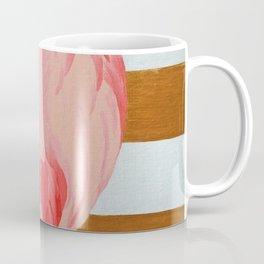 Striped Flamingo Coffee Mug