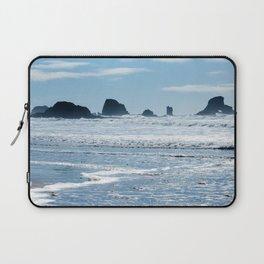 Oregon Coast Beach Photography Print Laptop Sleeve