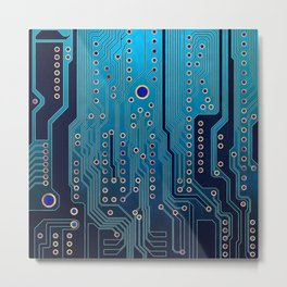PCB / Version 5 Metal Print