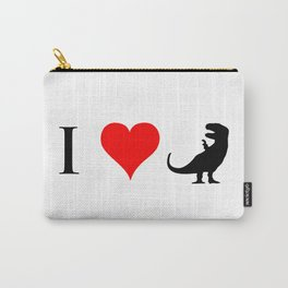 I Love Dinosaurs - T-Rex Carry-All Pouch