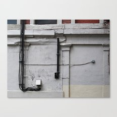 Cables on a Wall  Canvas Print