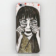 Love Forever Yayoi Kusama iPhone & iPod Skin