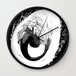 A Future Mermaid Wall Clock