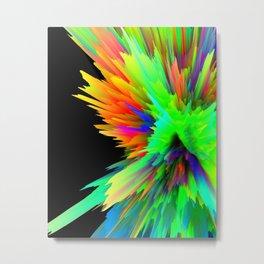 iDeal - ColorSplash 001 Metal Print