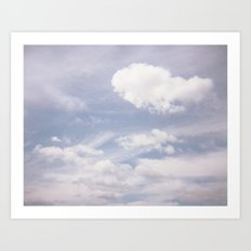 Sweet Clouds Art Print