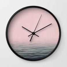 Misty sea Wall Clock