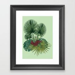 Future is Jungle #3 Framed Art Print