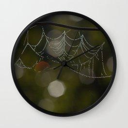 Web Art Wall Clock