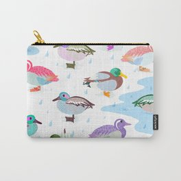 Nice Weather For Ducks Carry-All Pouch