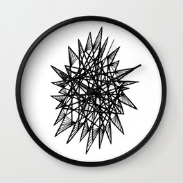 See-Through Star Wall Clock