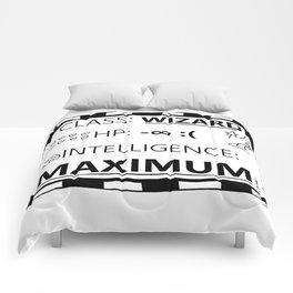 Wizarding Diploma Minus Infinity HP and Maximum Intelligence Comforters