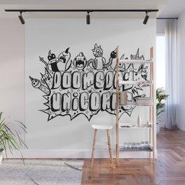 Doomsday unicorns Wall Mural