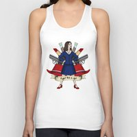 peggy carter Tank Tops featuring Fight like a Girl - Peggy Carter by HayPaige