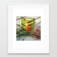 vegetables Framed Art Prints featuring vegetables by Michael Mann