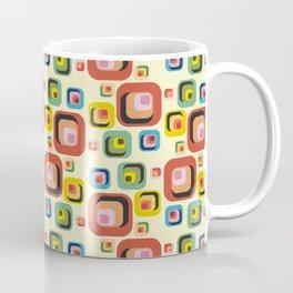 Retro midcentury geometric: Dov'è l'amore? Coffee Mug