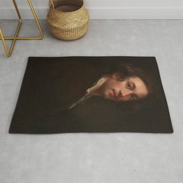 "Sir Joshua Reynolds ""Self-Portrait"" Rug"