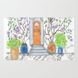 fairy door Rug