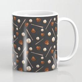 Baseball Overall Pattern Coffee Mug