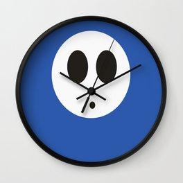 SHY GUY(BLUE) Wall Clock