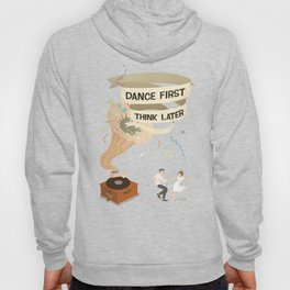 Gramophone couple swing dance Hoody