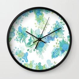 Flora 2 Wall Clock