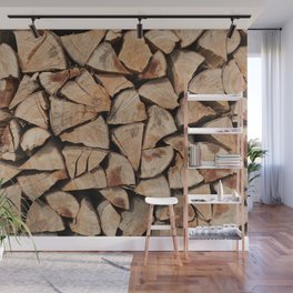 Stock for winter Wall Mural