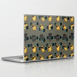 OLYMPIC LIFTING PUG Laptop & iPad Skin