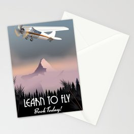 Learn To Fly,Book today! Stationery Cards