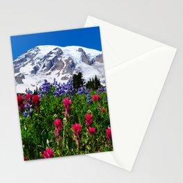 Mt. Rainier Skyline Trail, Mt. Rainier National Park Stationery Cards