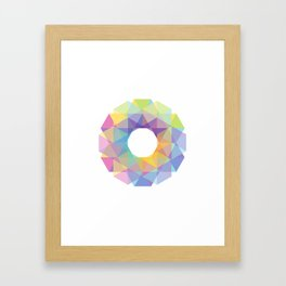 Fig. 036 Colorful Circle Framed Art Print