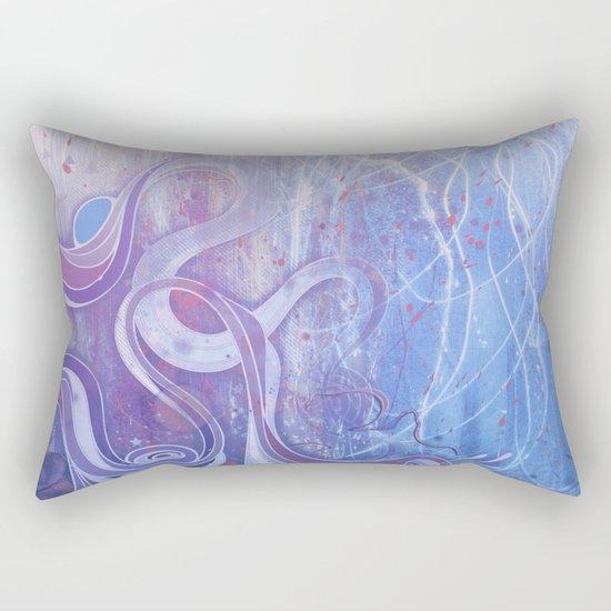 Electric Dreams II Rectangular Pillow