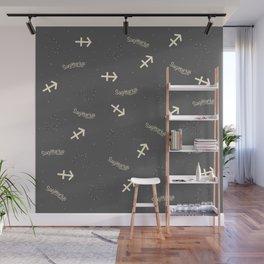 Sagittarius Pattern Wall Mural