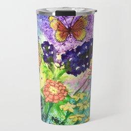 Bluebonnet Bouquet Travel Mug