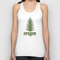 oregon Tank Tops featuring Oregon by Julie