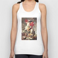 mosaic Tank Tops featuring mosaic by Panic Junkie