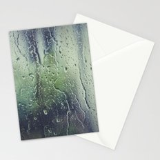 WATER - WINDOW - RAIN - FOCUS - PHOTOGRAPHY Stationery Cards