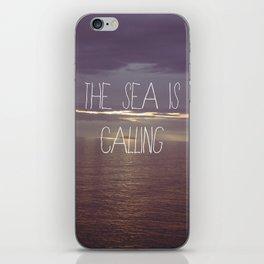 The Sea Is Calling iPhone Skin