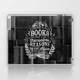 Reasons to stay alive Laptop & iPad Skin