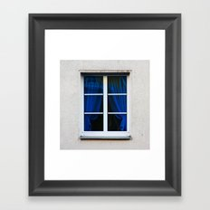fenster 1 Framed Art Print