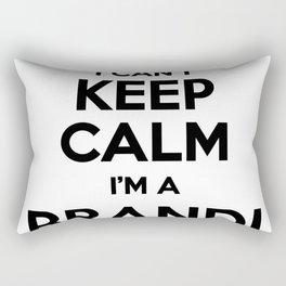 I cant keep calm I am a BRANDI Rectangular Pillow