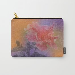 zen pattern hibiscus Carry-All Pouch
