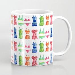 Evolution of the swimsuit pattern Coffee Mug