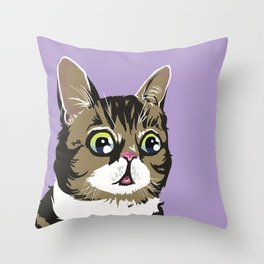 Lil Bub Throw Pillow