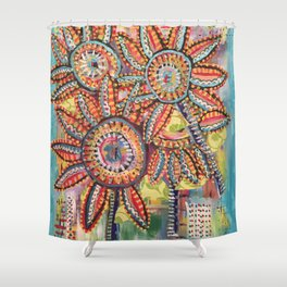 Floral Fiesta Shower Curtain