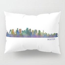 Boston Massachusetts City Skyline Hq V1 Pillow Sham