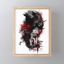 Fractal Mind Framed Mini Art Print