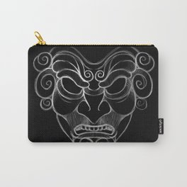 Ancient Mask Carry-All Pouch